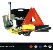 KIT EQUIPEMENTS DE SECURITE ADR (classe 3 - 4.1 - 4.3 - 8 - 9)