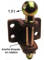 CHAPE 93 R/1 BROCHE DE 25 ZB BOULE 1T5- PERCEE 2 TR 2905711
