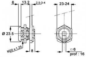 SERRURES 911/220A