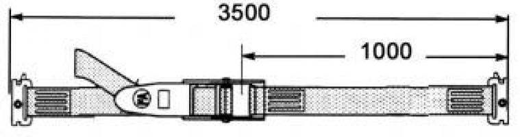TENDEUR A LEVIER 3m50  A ANCRAGE