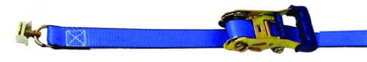 SANGLE AERO 25 MM AVEC TENDEUR A CLIQUET + 2 PIONS 18220 Lg 4m