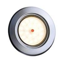 SPOT LED 12/14V 1W BLANC CHAUD 3200°K COLORIS SATINE-Spot LED