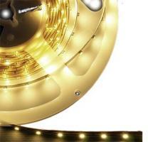 BANDE LED 12V SMD 3528 NON ETANCHE BLANC CHAUD EN RL DE 5M