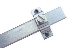 TRINGLE PLATE 12x2MM ALUMINIUM BRUT (Lg de 5m00)
