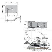 GRENOUILLERE 91-532-52 ACIER INOXYDABLE MODELE CADENASSABLE