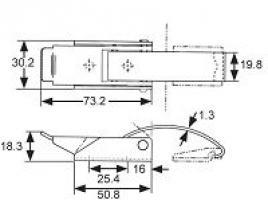 GRENOUILLERE 97-60-120-11 ACIER CHROME