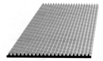 M DE TAPIS STRIES FINES Ep.3 mm LARG. 1M20 RL 10 M