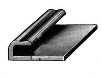 Angle en U avec Base /à vis /à Trou Long Largeur de la Barre 9 cm galvanis/é Maxerio Support de Poteau