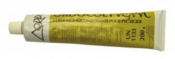 COLLE PVC ORDOCOL BLANCHE TUBE DE 200ML