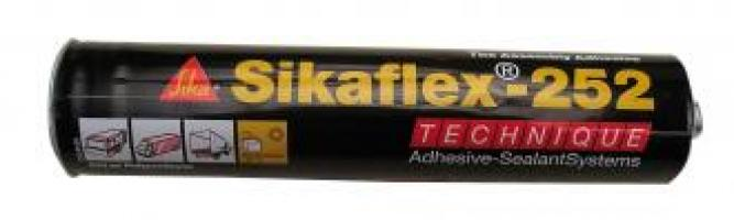 MASTIC POLYU. SIKAFLEX 252 BLANC EN CART. 300ML