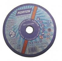 MEULE NORTON D76X3,2X10 INOX 66252829949