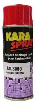 LAQUE RAL 1003 JAUNE SECURITE AEROSOL 400ML